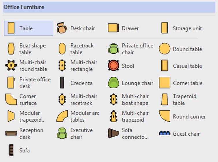 visio nábytek