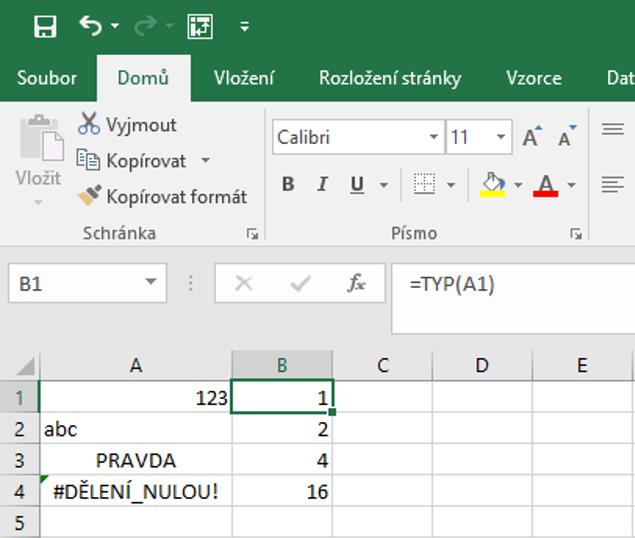 tabulka s funkcí