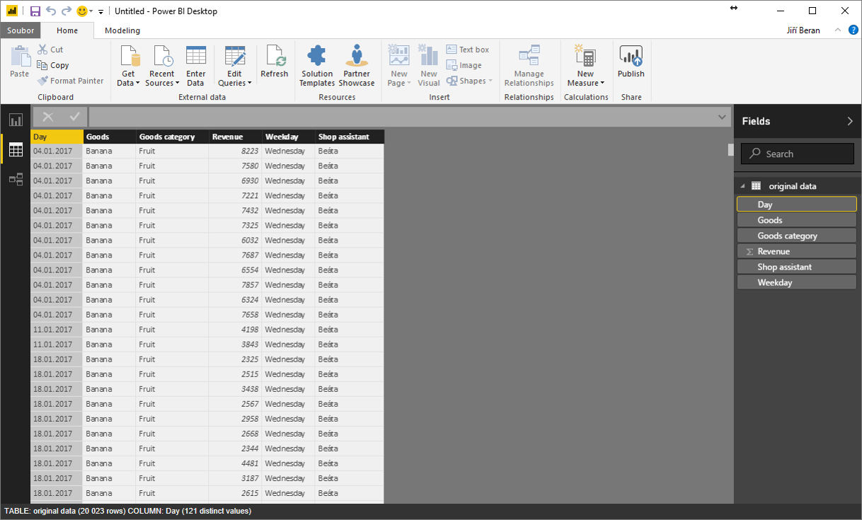 New table (View) in Data Model – ExcelTown