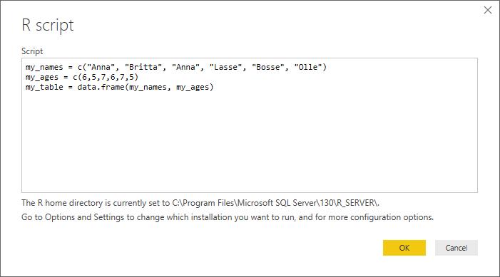 R-script as a data source in Power BI Desktop – ExcelTown.com ...