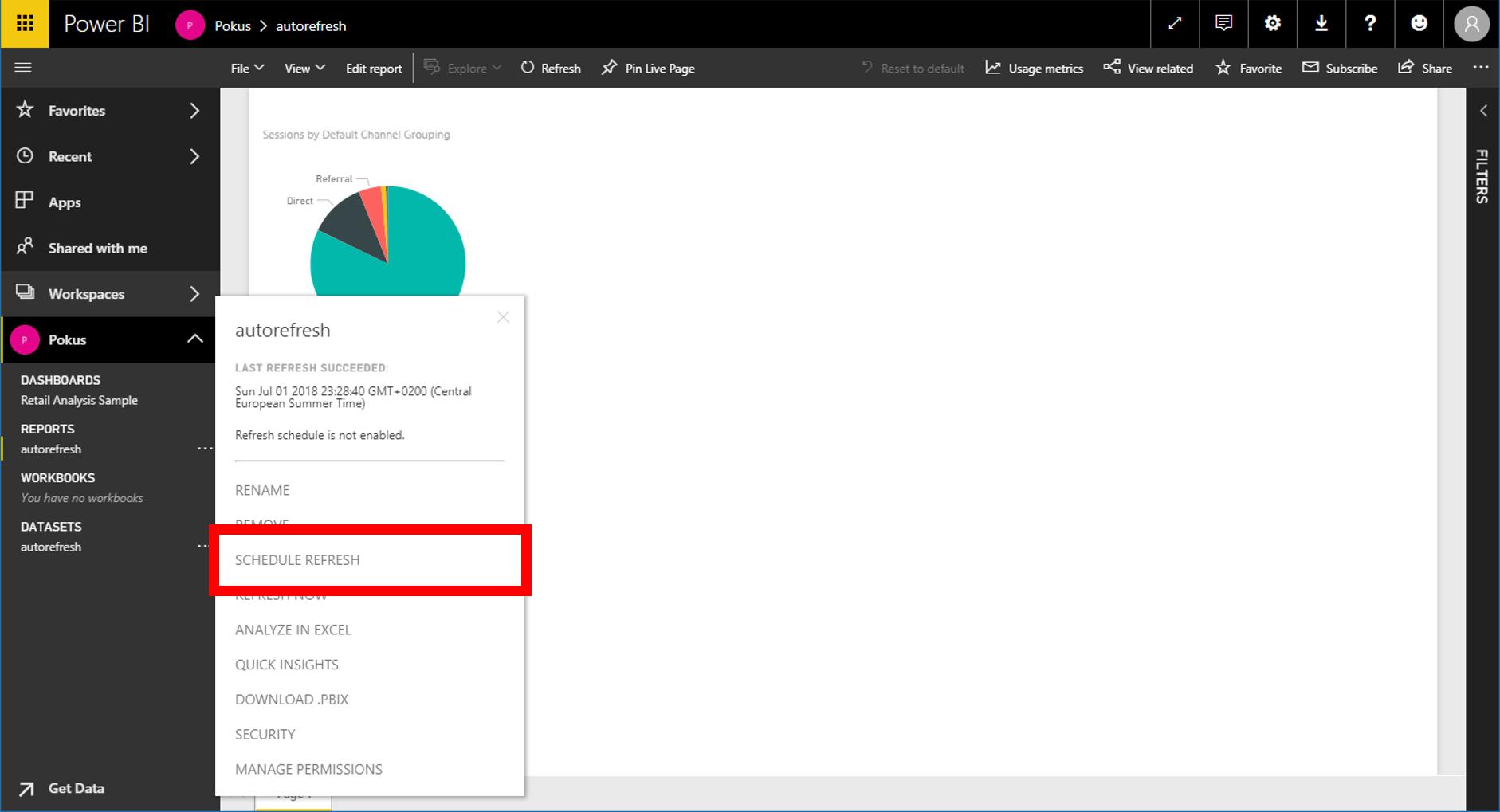 How to schedule updates in Power BI – ExcelTown